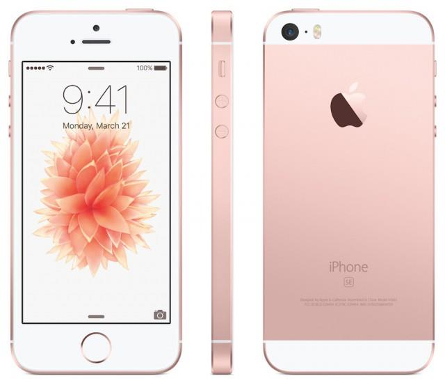 Apple iPhone SE 16GB/ Rose gold