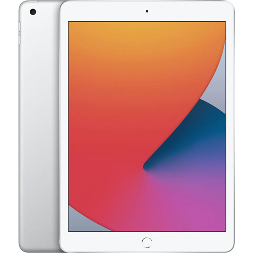Apple IPad 10,2 2020 - 8. Generation Wi-Fi (128GB/Silver) uden abonnement