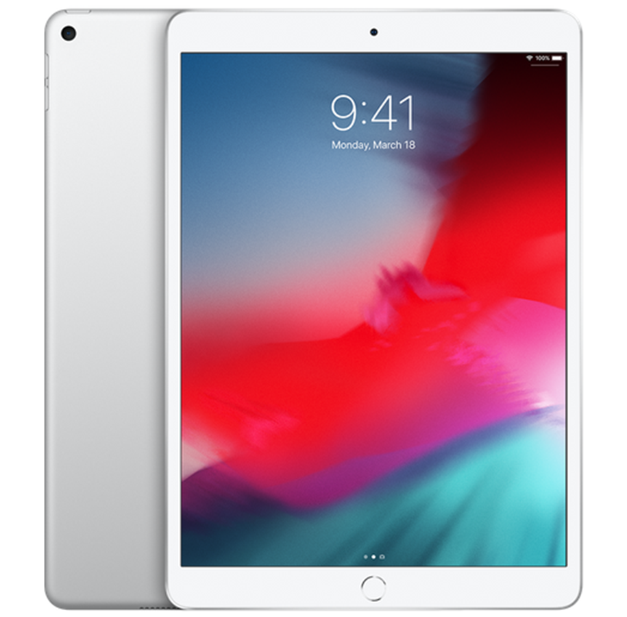 Apple iPad Air 10,5 (256GB/Silver/WiFi) (2019) uden abonnement, gratis levering til pakkeshop