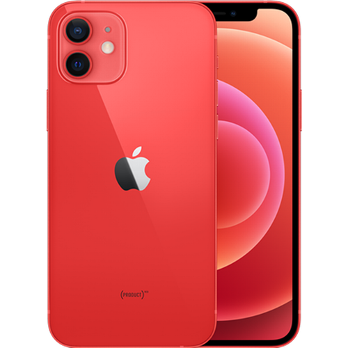 Apple iPhone 12 5G (256GB/PRODUCT(RED)) uden abonnement