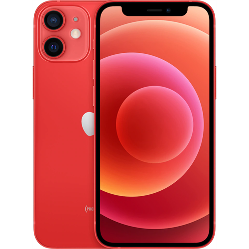 Apple iPhone 12 mini 5G (256GB/PRODUCT(RED)) uden abonnement