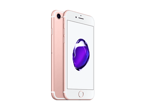 Apple iPhone 7 128GB (Rose Gold) uden abonnement, gratis levering til pakkeshop