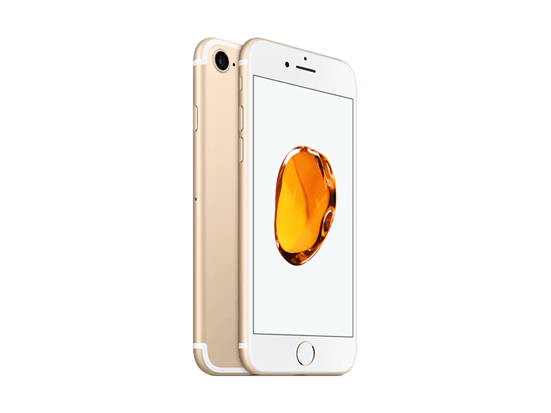 Apple iPhone 7 256GB (Gold) uden abonnement, gratis levering til pakkeshop
