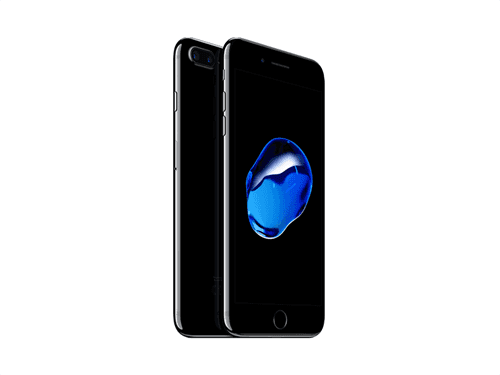Apple iPhone 7 Plus 128GB (Jet Black) uden abonnement, gratis levering til pakkeshop