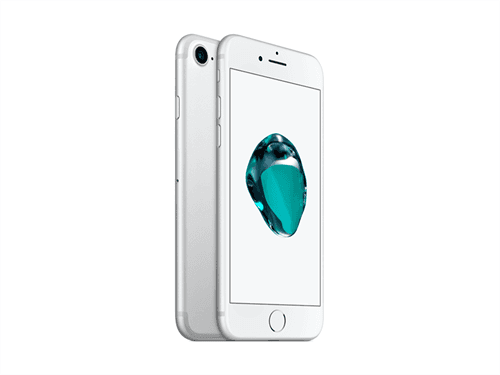 Apple iPhone 7 128GB (Silver) uden abonnement, gratis levering til pakkeshop