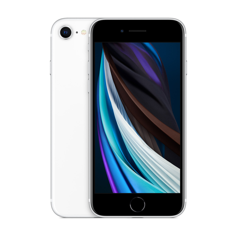 Apple iPhone SE - 2nd Generation (128GB/White) uden abonnement, gratis levering til pakkeshop