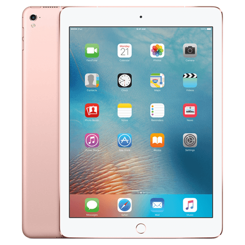 Apple iPad Pro 9.7 (128GB/Rose Gold) uden abonnement, gratis levering til pakkeshop