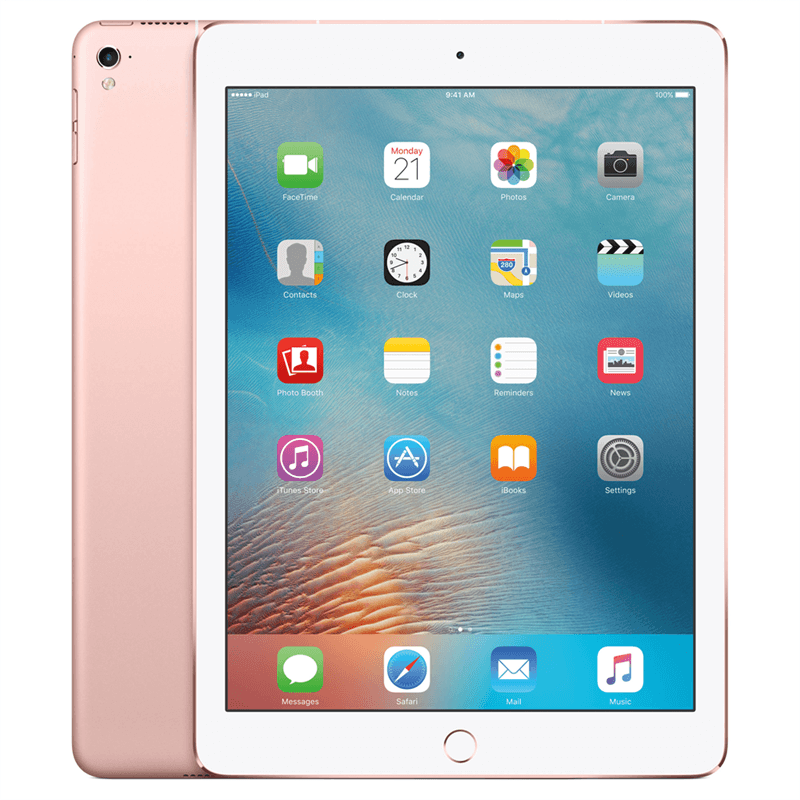 Apple iPad Pro 9.7 4G (128GB/Rose Gold) uden abonnement, gratis levering til pakkeshop