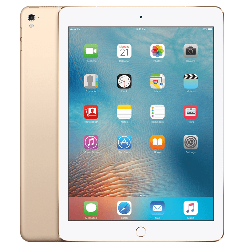 Apple iPad Pro 9.7 (32GB/Gold) uden abonnement, gratis levering til pakkeshop