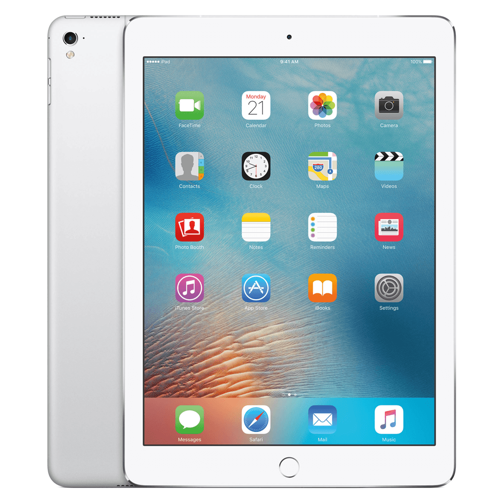 Apple iPad Pro 9.7 (128GB/Silver) uden abonnement, gratis levering til pakkeshop