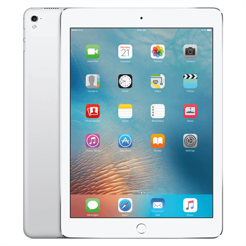 Apple iPad Pro 9.7 4G (128GB/Silver) uden abonnement, gratis levering til pakkeshop