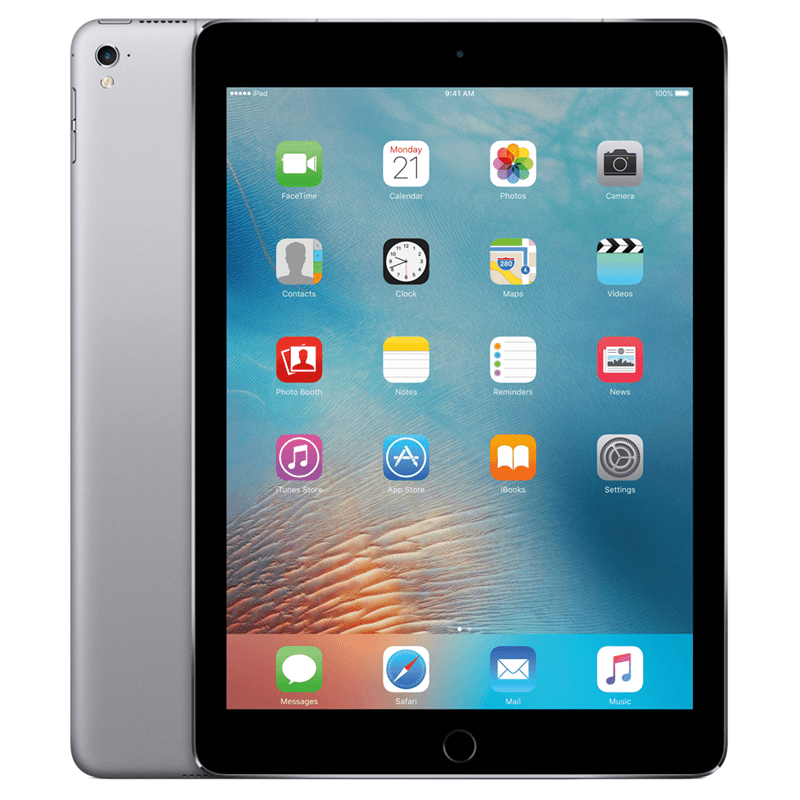 Apple iPad Pro 9.7 4G (256GB/Space Grey) uden abonnement, gratis levering til pakkeshop