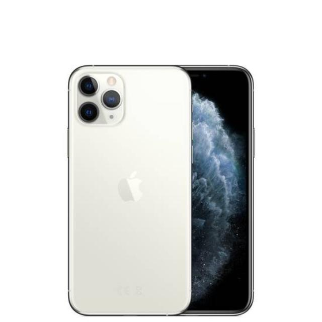 Apple iPhone 11 Pro (512GB/Silver) uden abonnement, gratis levering til pakkeshop