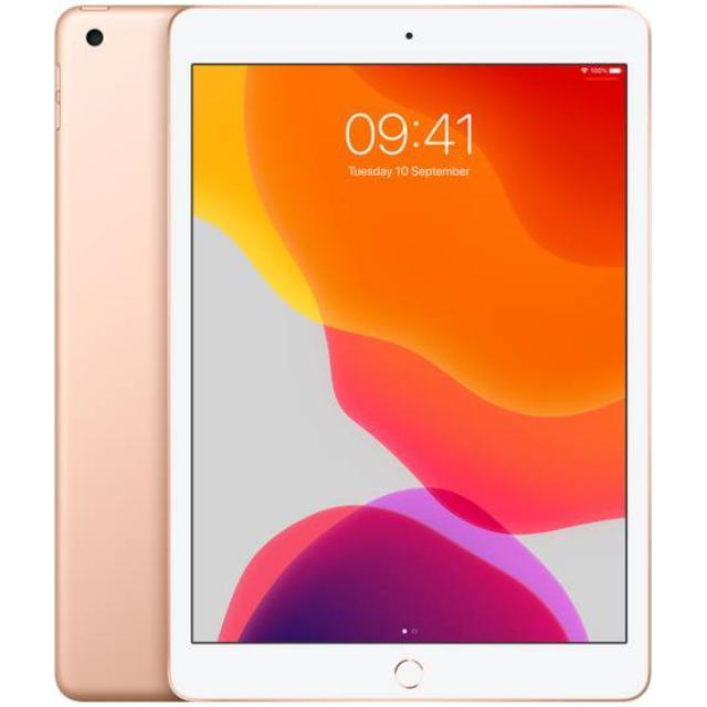 Apple iPad 10,2 2019 - 7. generation 4G (32GB/Gold) uden abonnement, gratis levering til pakkeshop