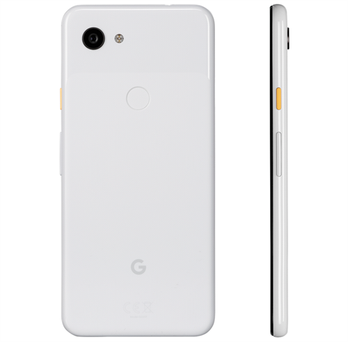 Google Pixel 3a (64GB/Clearly White) uden abonnement, gratis levering til pakkeshop