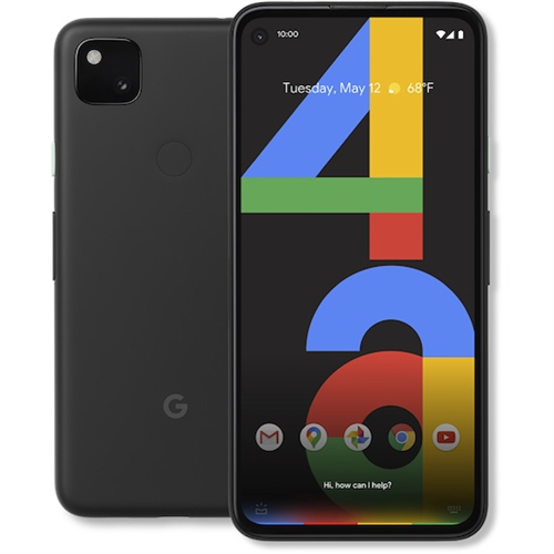Google Pixel 4a 6GB 5G (128GB/Just Black) uden abonnement