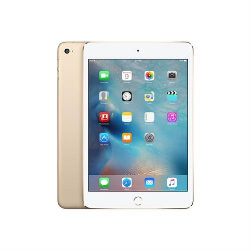 APPLE IPAD MINI 4 128GB (4G/GOLD) uden abonnement, gratis levering til pakkeshop