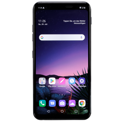 LG G8s ThinQ Dual Sim (128GB/Black) uden abonnement, gratis levering til pakkeshop