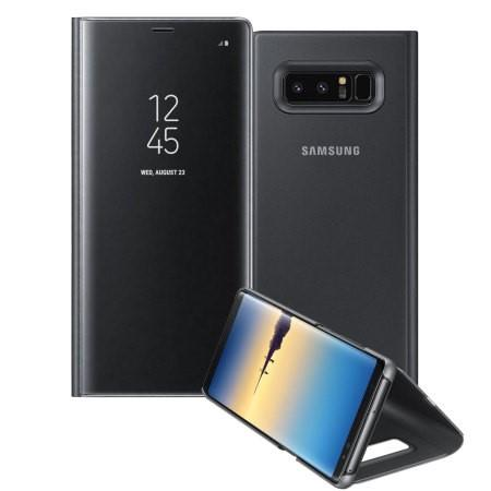 Samsung Galaxy Note 8 Clear View Standing Cover uden abonnement, gratis levering til pakkeshop