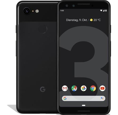 Google Pixel 3 (64GB/Just Black) uden abonnement