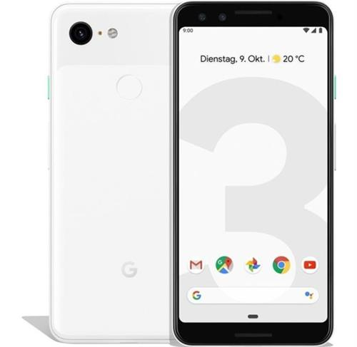 Google Pixel 3 (64GB/Clearly White) uden abonnement