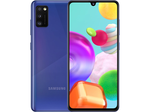 Samsung Galaxy A41 A415 Dual Sim 4GB (64GB/Prism Crush Blue) uden abonnement