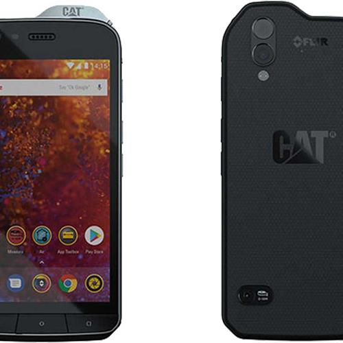 Caterpillar S61 Dual Sim (64GB/Black) uden abonnement, gratis levering til pakkeshop