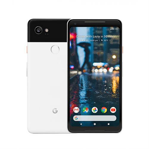 Google Pixel 2 XL (64GB/Black/White) uden abonnement, gratis levering til pakkeshop
