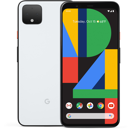 Google Pixel 4 XL (64GB/Clearly White) uden abonnement, gratis levering til pakkeshop