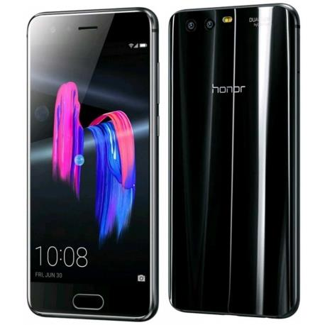 Huawei Honor 9 4G 64GB Dual-SIM black  uden abonnement, gratis levering til pakkeshop