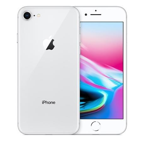 Apple iPhone 8 (256GB/Silver) uden abonnement, gratis levering til pakkeshop