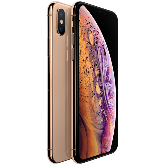 Apple iPhone XS Max Dual SIM (512GB/Gold) uden abonnement, gratis levering til pakkeshop