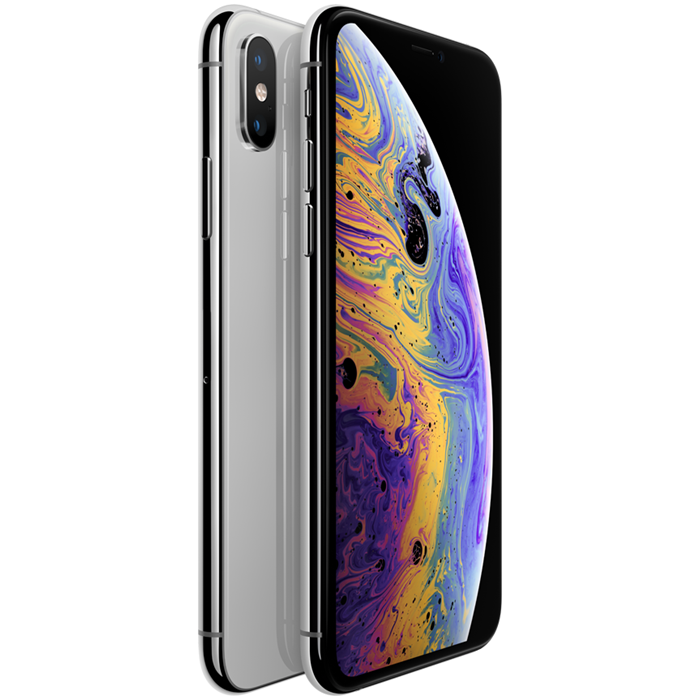 Apple iPhone XS Max (256GB/Silver)    uden abonnement, gratis levering til pakkeshop