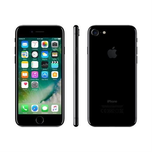 Apple iPhone 7 32GB (Jet Black) uden abonnement, gratis levering til pakkeshop