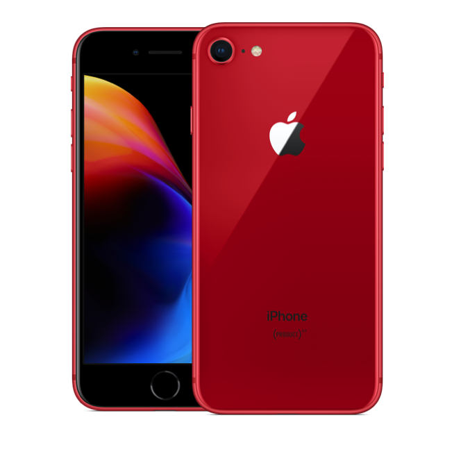 Apple iPhone 8 (64GB/Red) uden abonnement