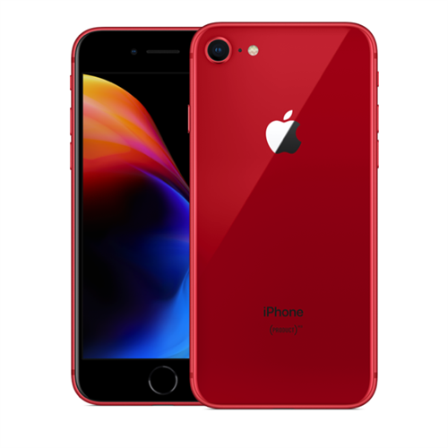 Apple iPhone 8 (256GB/Red) uden abonnement, gratis levering til pakkeshop
