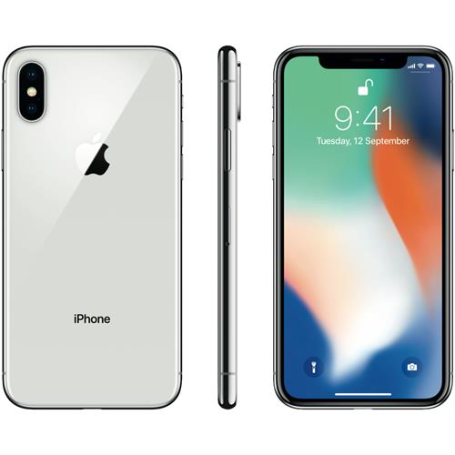 Apple iPhone X (64GB/Silver)