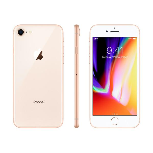 Apple iPhone 8 (256GB/Gold) uden abonnement, gratis levering til pakkeshop