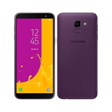 Samsung Galaxy J6 (2018) J600F (32GB/Purple) uden abonnement, gratis levering til pakkeshop