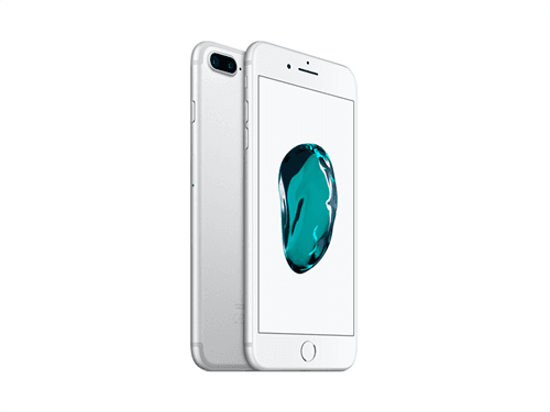 Apple iPhone 7 Plus 128GB (Silver) uden abonnement, gratis levering til pakkeshop