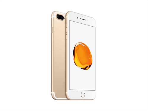 Apple iPhone 7 Plus 128GB(Gold) uden abonnement, gratis levering til pakkeshop