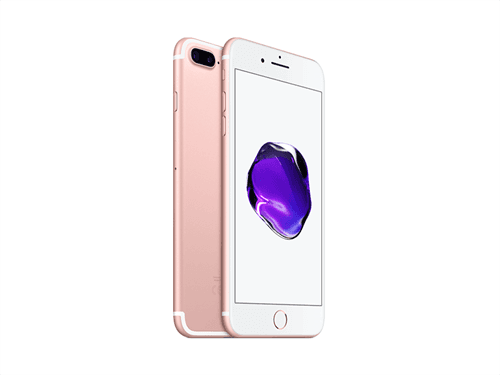 Apple iPhone 7 Plus 128GB (Rose Gold) uden abonnement, gratis levering til pakkeshop
