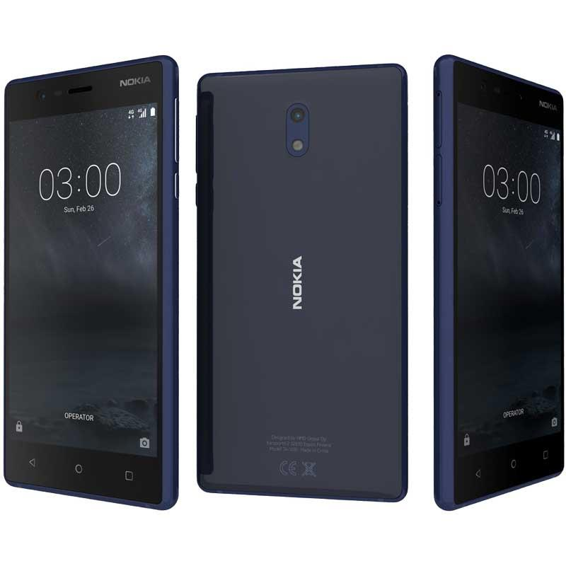 Nokia 3 Dual-sim (Tempered Blue/16GB)