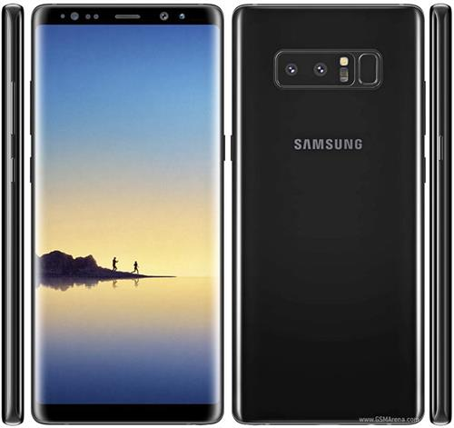Samsung Galaxy Note 8 Dual-SIM (Midnight Black/64GB) uden abonnement, gratis levering til pakkeshop