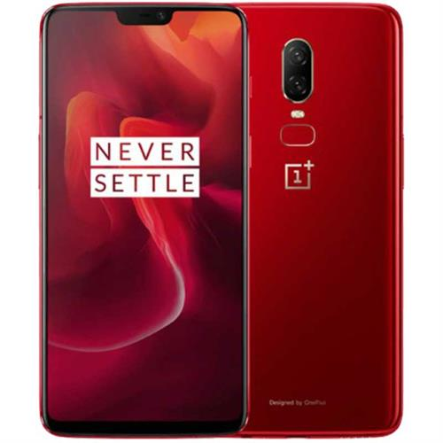 OnePlus 6 Dual-SIM (128GB/Red)