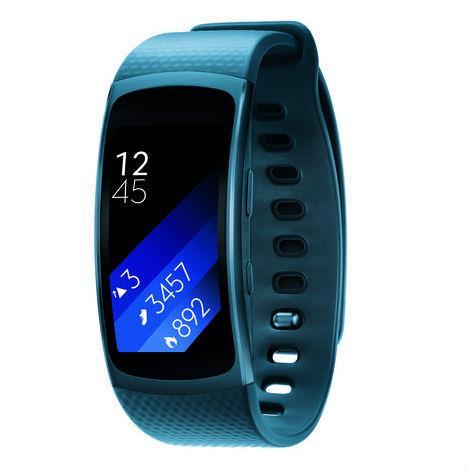 Samsung Galaxy Gear FIT 2 (blue) uden abonnement, gratis ...