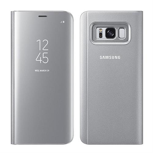SAMSUNG CLEAR VIEW STANDING COVER S8 Silver