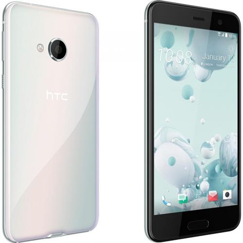 HTC U Play 32gb Ice White uden abonnement, gratis levering til pakkeshop